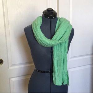 NWT Old Navy Knit Seafoam Green Mint Scarf